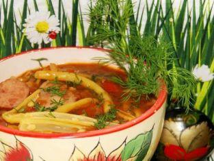 gulasz z fasolki szparagowej
