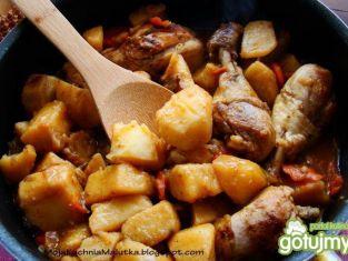 Udka z pasternakiem i ziemniakami