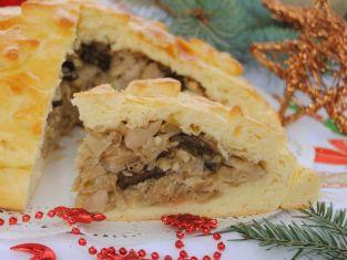 Świąteczny kulebiak