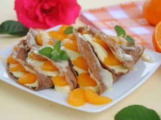 Naleśniki z mandarynką