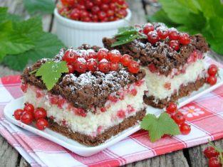 ciasto kruche z porzeczkami