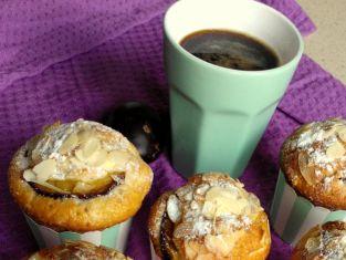 muffinki ze śliwką