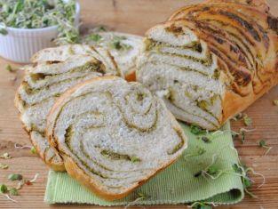 Chleb z pesto