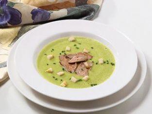 Zupa z wątróbkami drobiowymi