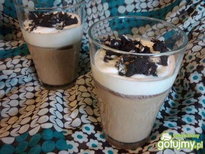 kawa z ciasteczkiem