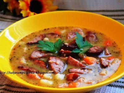 Zupa z grochem