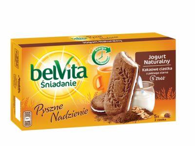 belVita czekoladowe nadzienie