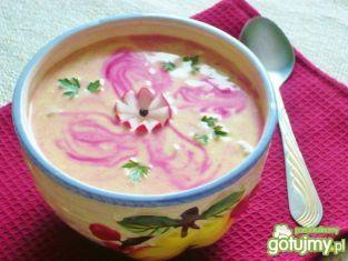 zupa z rzodkiewki