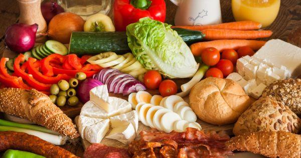 warzywa, nabiał
