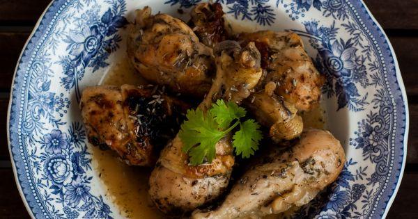 Kurczak w lawendzie