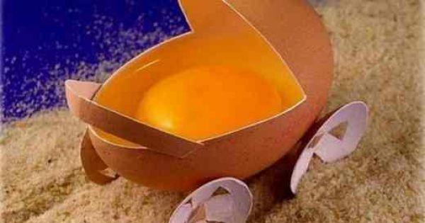 wózek z jajka