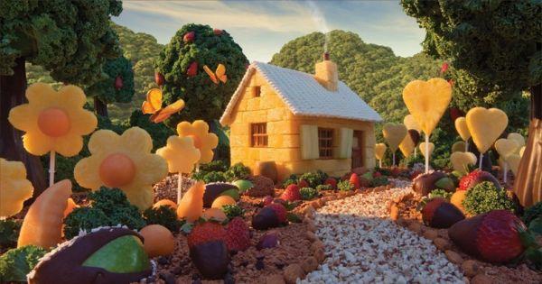 słodki domek
