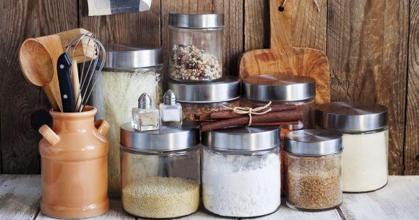 Pojemniki na mąkę