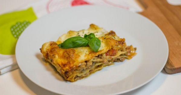 lasagne w sosie beszamelowym