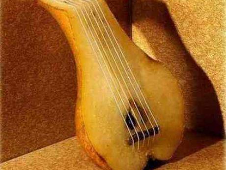 gitara z gruszki