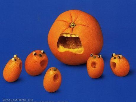 pomarańcza i mandarynki