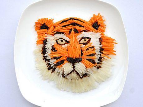 marchewkowy tygrys