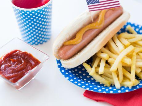 hot-dog amerykański