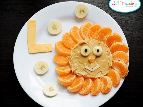 orzechowo-mandarynkowe słoneczko