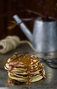 Pancakes z solonym karmelem