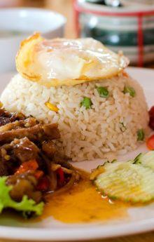 Potrawa z ryżem
