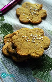 Bezglutenowe krakersy serowe