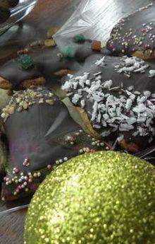 Mięciutkie pierniczki w czekoladzie
