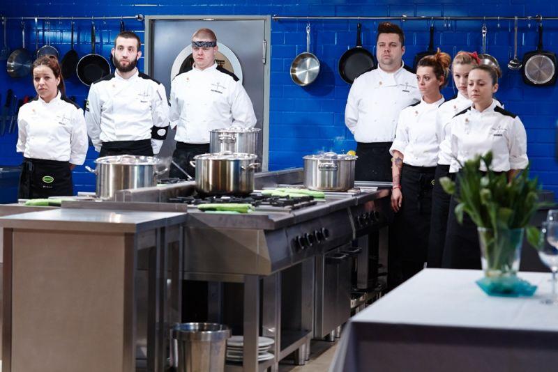 Uczestnicy programu Piekielna kuchnia