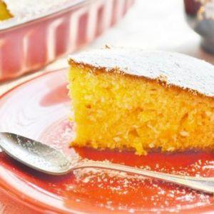 Brazylijskie ciasto z kukurydzą