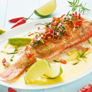 ryba z olejem lnianym