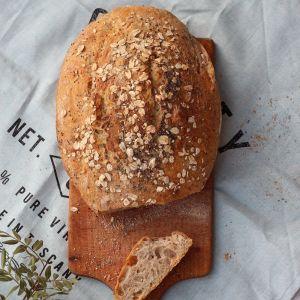 Pszenno-żytni chleb z garnka