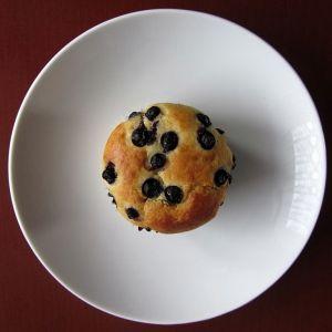 Muffina z serem i jagodami