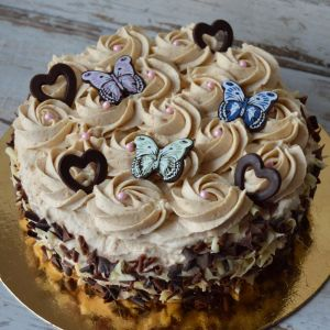 Kawowy tort