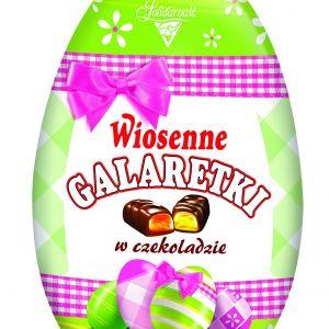 Wiosenne galaretki w czekoladzie