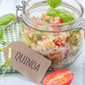 Potrawa z quinoa