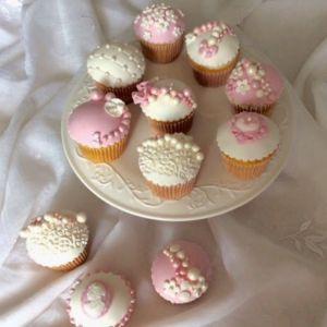 Cupcakes romantyczne