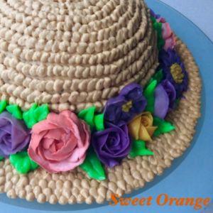 Tort kapelusz