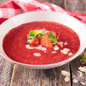 Truskawkowa zupa owocowa
