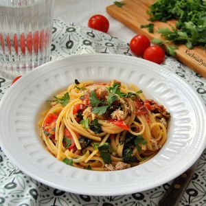pasta z anchois