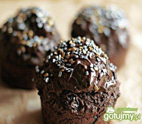 Muffiny czekoladowo-wiśniowe