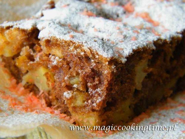 ciasto cynamonowo-jabłkowe