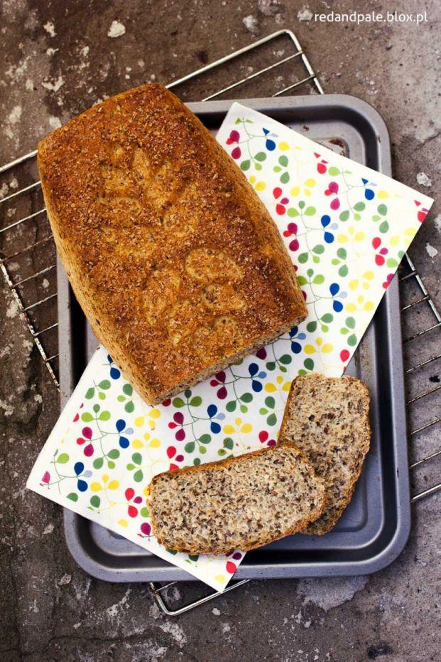 chleb z siemieniem