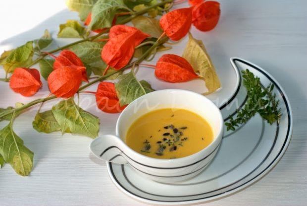 egzotyczna zupa z dyni