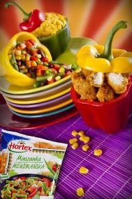 pikantny kurczak z warzywami