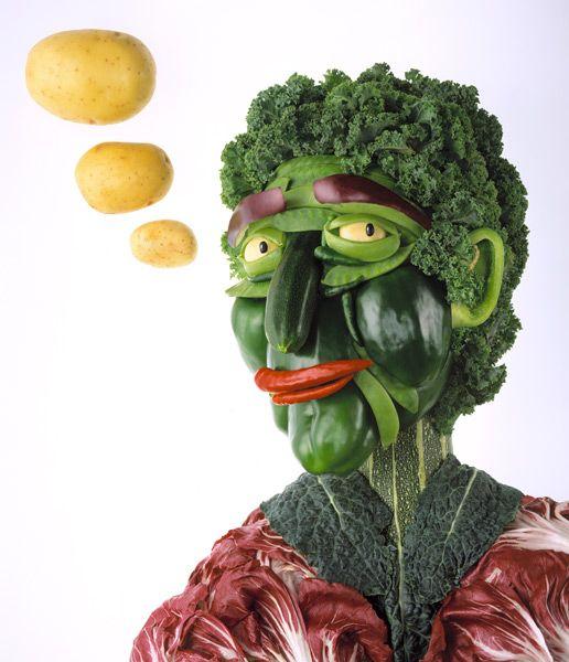 warzywna postać