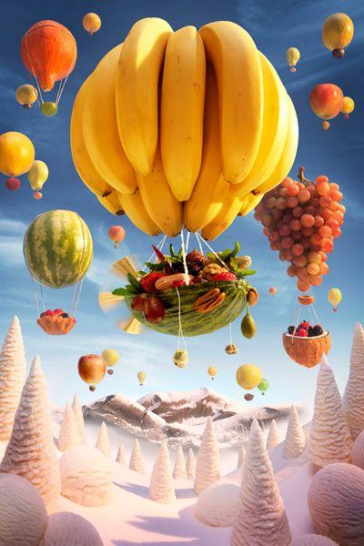 bananowy balon
