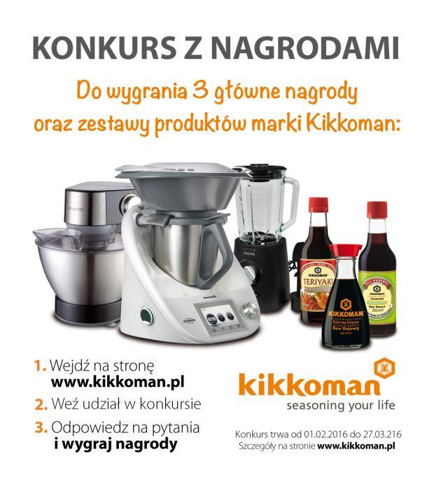 Dodaj życiu smaku - konkurs Kikkoman