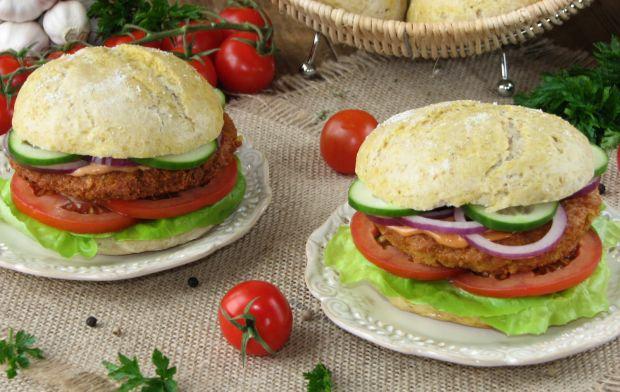 Przepis: Burgery z kaszy jaglanej i ciecierzycy
