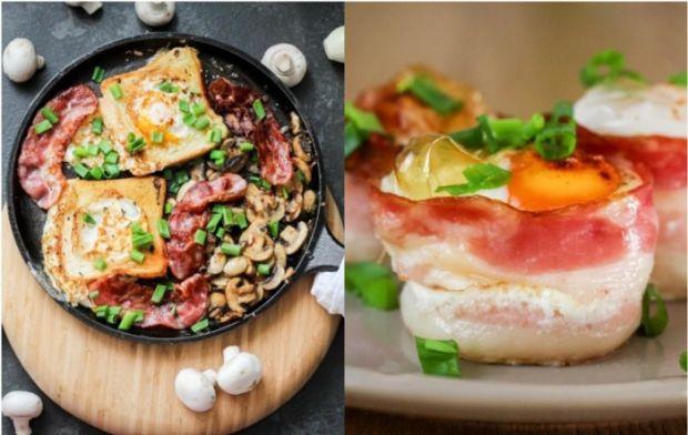 jajka sadzone i pieczone