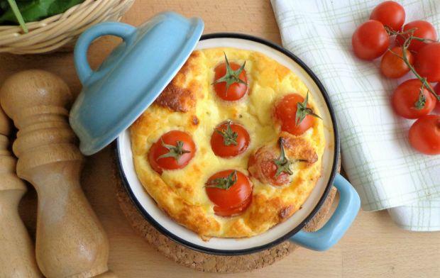 cocotte z pieczonymi pomidorami